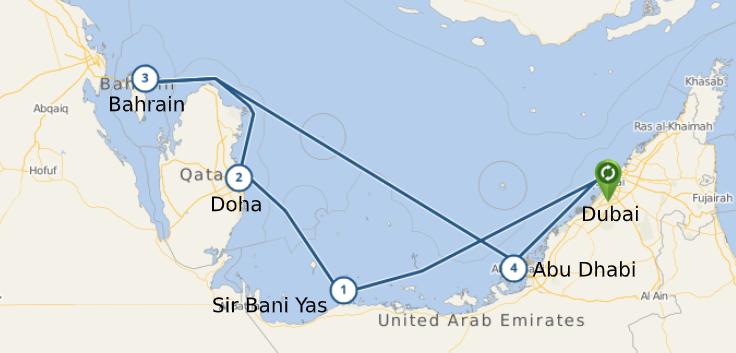 Du hành qua miền đất Nghìn lẻ một đêm cùng Du thuyền Jewel of the seas