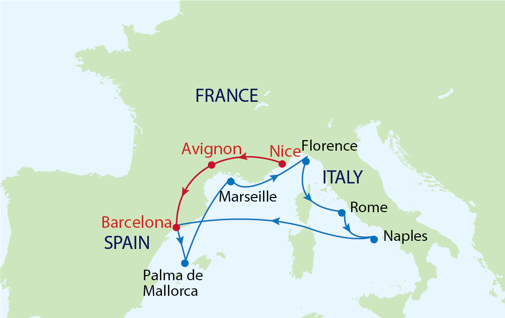 Khám phá Barcelona - thành phố du lịch quyến rũ nhất Tây Ban Nha cùng du thuyền Allure of the Seas