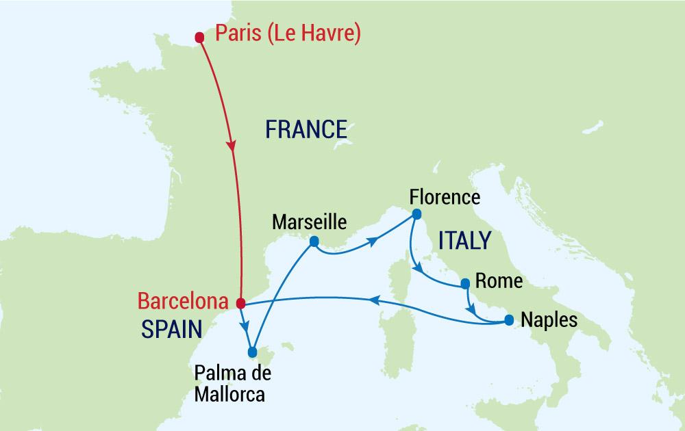 Chiêm ngưỡng nét cổ kính của Châu Âu cùng du thuyền 5 sao Allure of the Seas