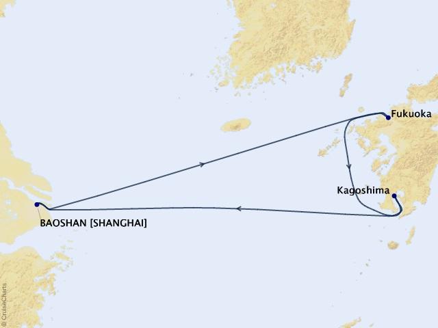 Cùng tàu Spectrum of the Seas khám phá đại dương