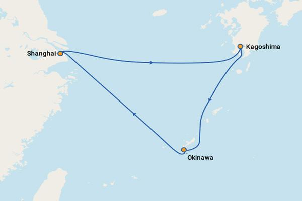 Trải nghiệm hải trình Thượng Hải - Okinawa - Nagasaki