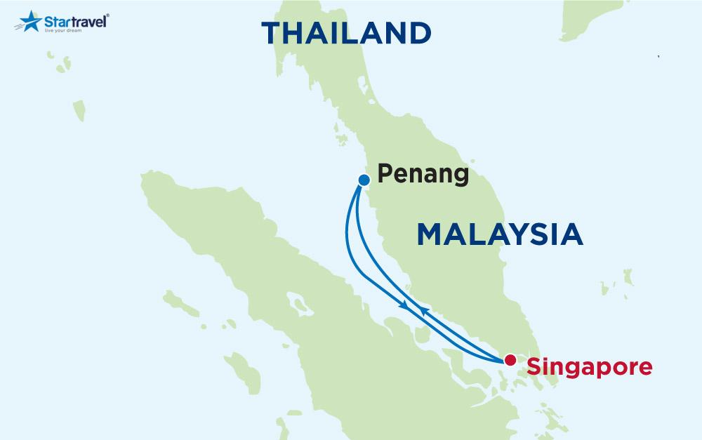 Du lịch hè cùng du thuyền 5 sao khám phá Singapore - Malaysia