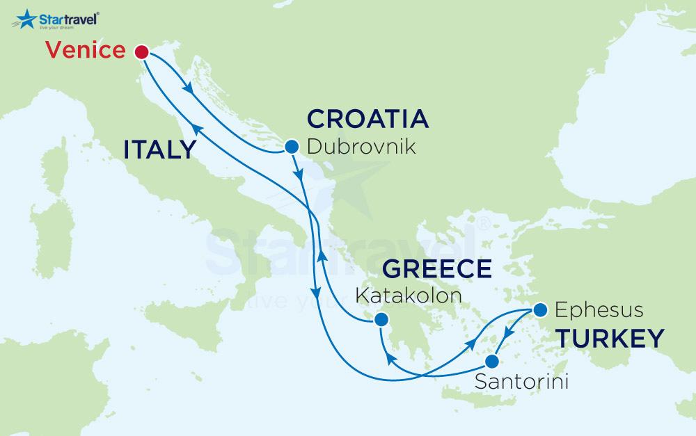 Du Lich Hè - ChÂu Âu - Ý - CROATIA - MONTENEGRO - HY LẠP