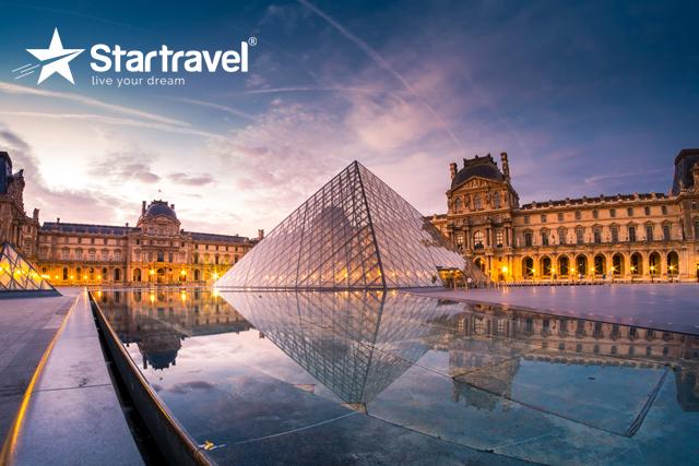 Chiêm ngưỡng những kiệt tác nghệ thuật nổi tiếng thế giới tại Bảo tàng Louvre - thủ đô Paris, Pháp cùng du thuyền Allure of the Seas