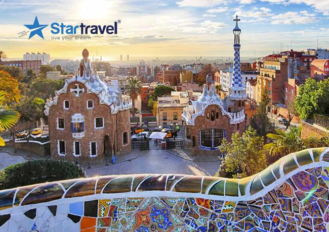 Lạc bước trong thế giới cổ tích tại Công viên Guell - Barcelona cùng du thuyền Allure of the Seas