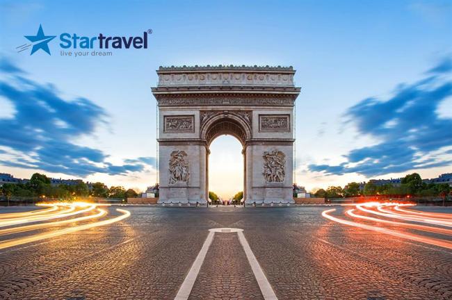 Ghé thăm Khải Hoàn Môn nổi tiếng của nước Pháp trong hải trình khám phá Châu Âu của du thuyền Allure of the Seas