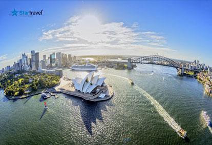 Trải nghiệm mùa xuân nước Úc và tận hưởng du thuyền 5 sao Ovation of the Seas