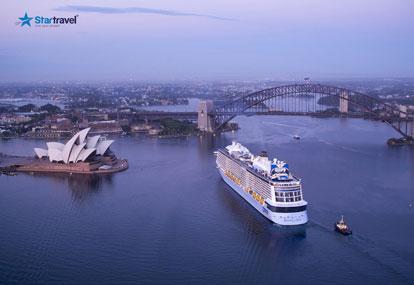 Nước Úc đầu hè và trải nghiệm du thuyền 5 sao Ovation of the Seas
