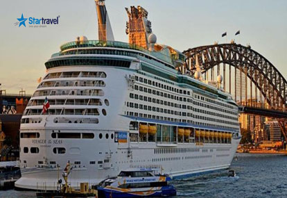 Khám phá Melbourne - Sydney - Trải nghiệm du thuyền 5 sao Voyager of the Seas