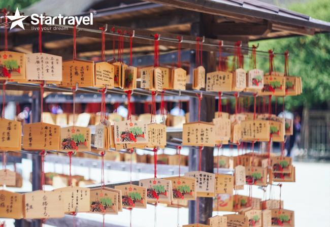 Đầu xuân ghé đền Dazaifu cầu bình an cùng Du thuyền Spectrum of the Seas