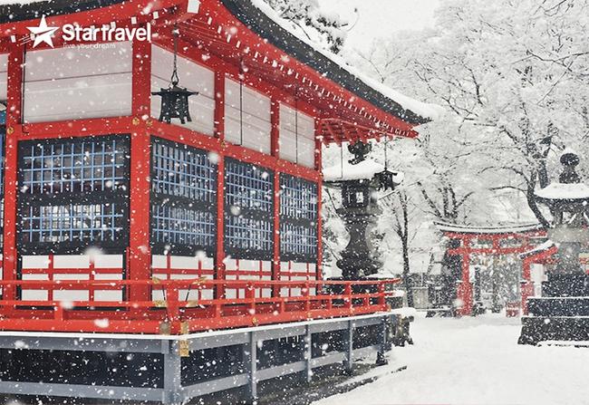 Cùng Du thuyền Spectrum of the Seas trải nghiệm những ngày cuối đông Nhật Bản
