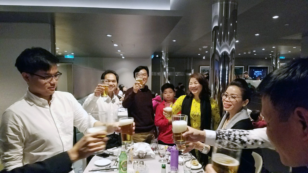 Đoàn khách tham quan Thượng Hải - Nhật Bản 08/01/2019