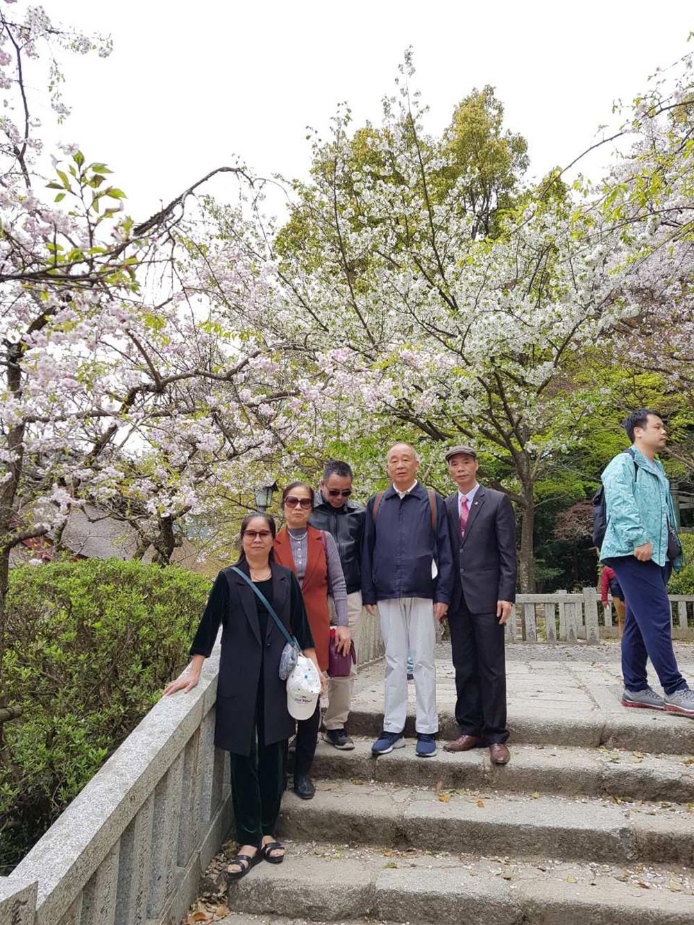 Đoàn khách tham quan Thượng Hải - Nhật Bản 02/04/2019