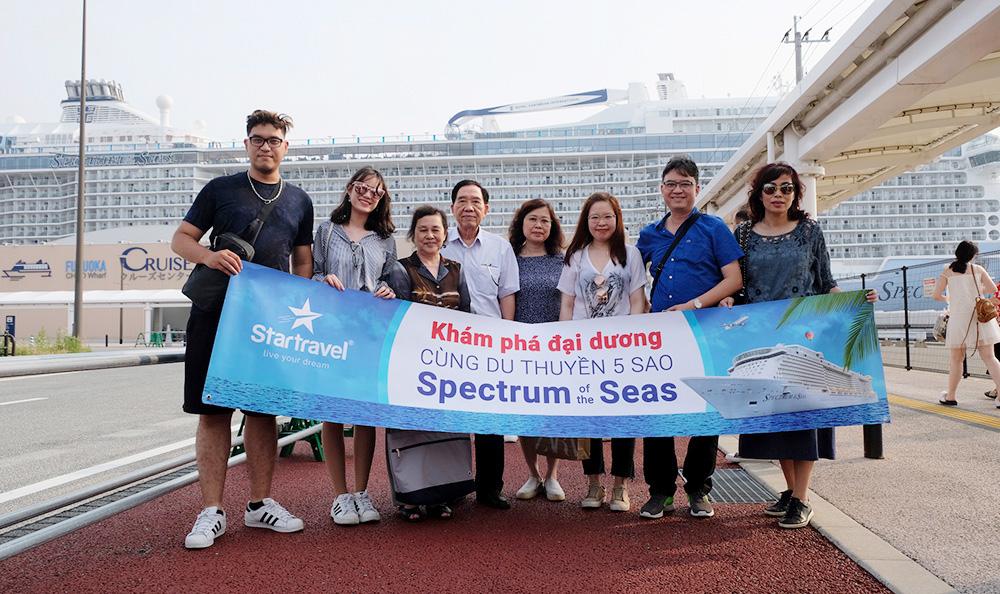 Đoàn khách tham quan Thượng Hải - Nhật Bản 17/06/2019