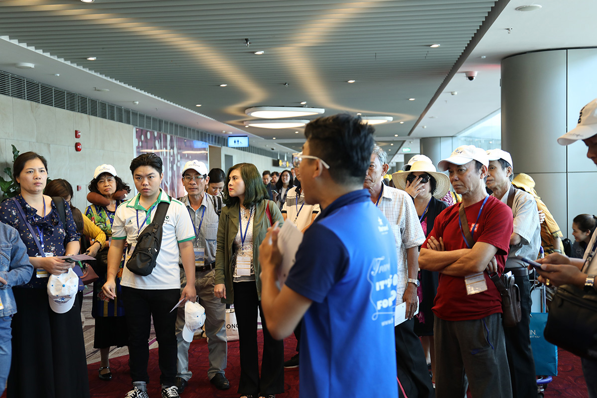 Đoàn khách PHL tham quan Singapore - Malaysia - Thái Lan ngày 06/05/2019