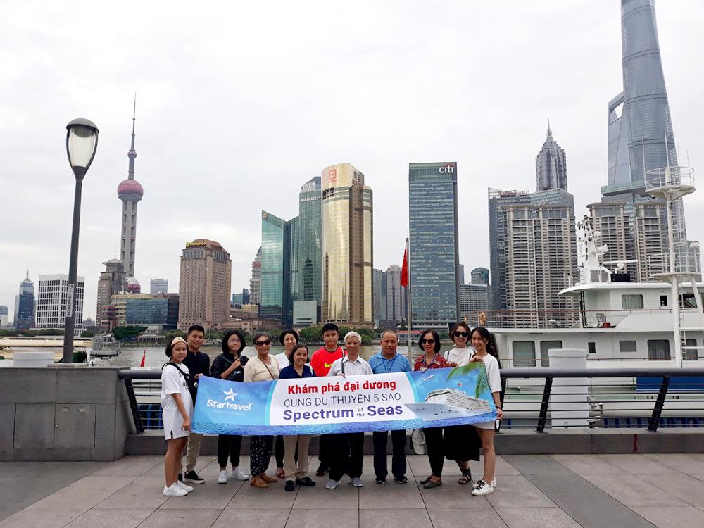 Đoàn khách tham quan Thượng Hải - Nhật Bản 02/07/2019