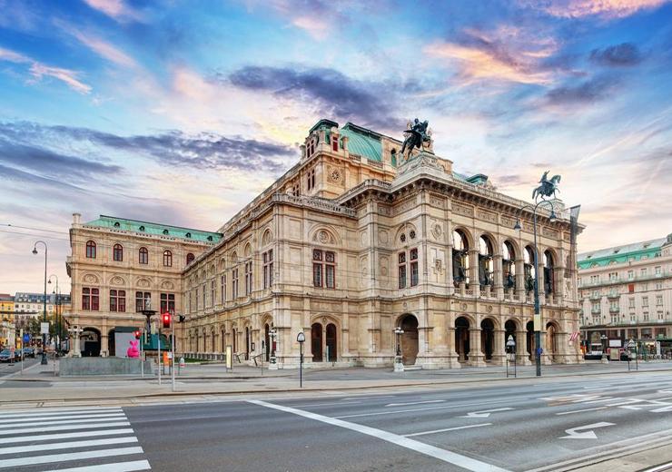 Praha – Vienna, Áo