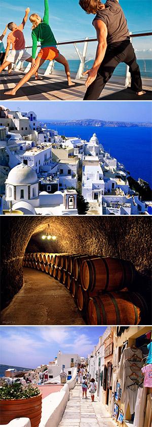 SANTORINI, GREECE (Ăn: Ẩm thực 24/24 trên du thuyền)