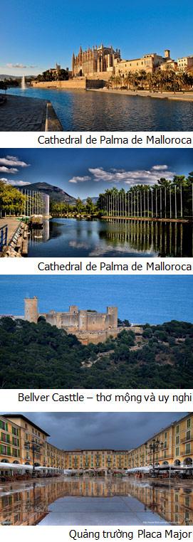 PALMA DE MALLORCA (Ăn: phục vụ 24/24 trên du thuyền)