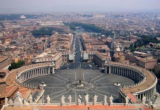Ngày 07: PARIS – ROME – VATICAN