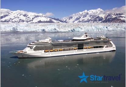 Cùng du thuyền 5 sao Serenade of the Seas khám phá Xứ tuyết Alaska vào hè