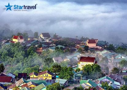 Tour du lịch Đà Lạt - Hoa Sơn Điền Trang - Trang trại rau và hoa