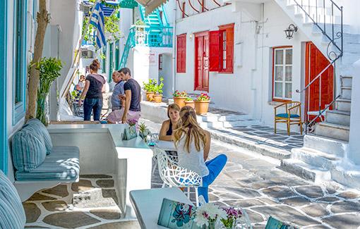 Karakolon, Hy Lạp