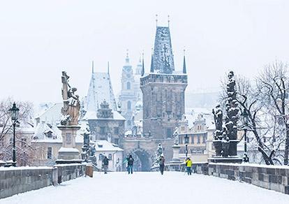 Hành trình khám phá Châu Âu trong tuyết