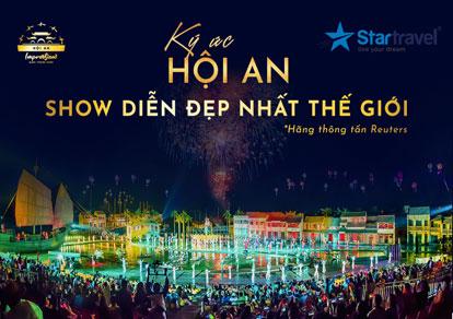 Tour du lịch Đà Nẵng - Sơn Trà - Cù Lao Chàm - Hội An - Bà Nà - Tặng Show Ký Ức Hội An