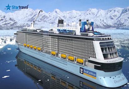Alaska vào hạ - cùng khám phá du thuyền 5 sao Ovation of the Seas