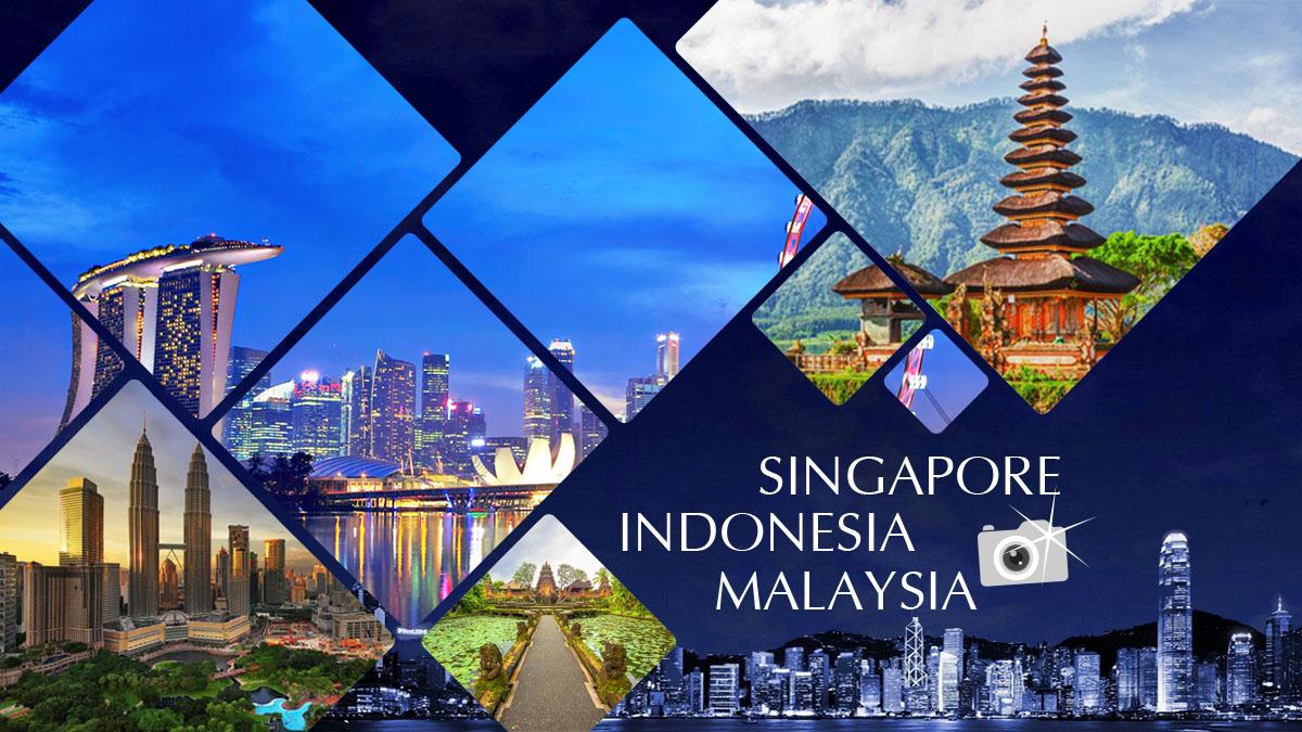 Khám phá Singapore - Indonesia - Malaysia