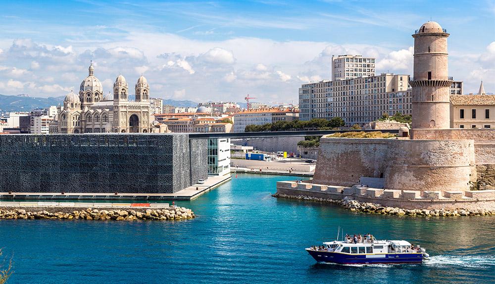 Du thuyền 5 sao bến cảng Vieux Marseille, Pháp