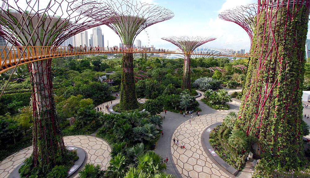 du thuyền 5 sao garden by the bay singapore