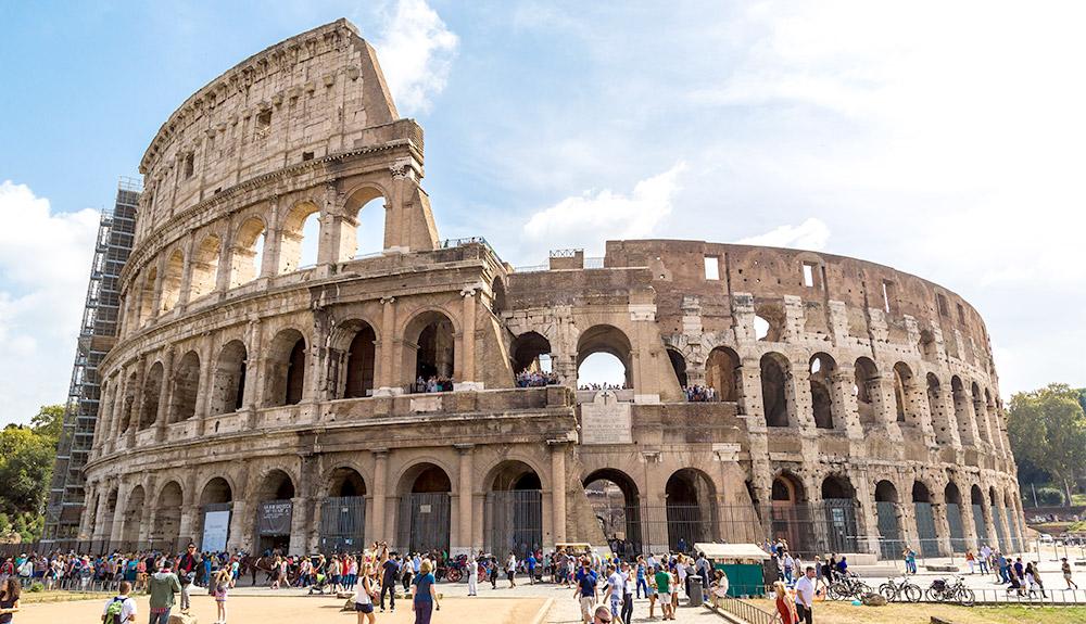 Du thuyền 5 sao đấu trường La Mã Rome, Ý