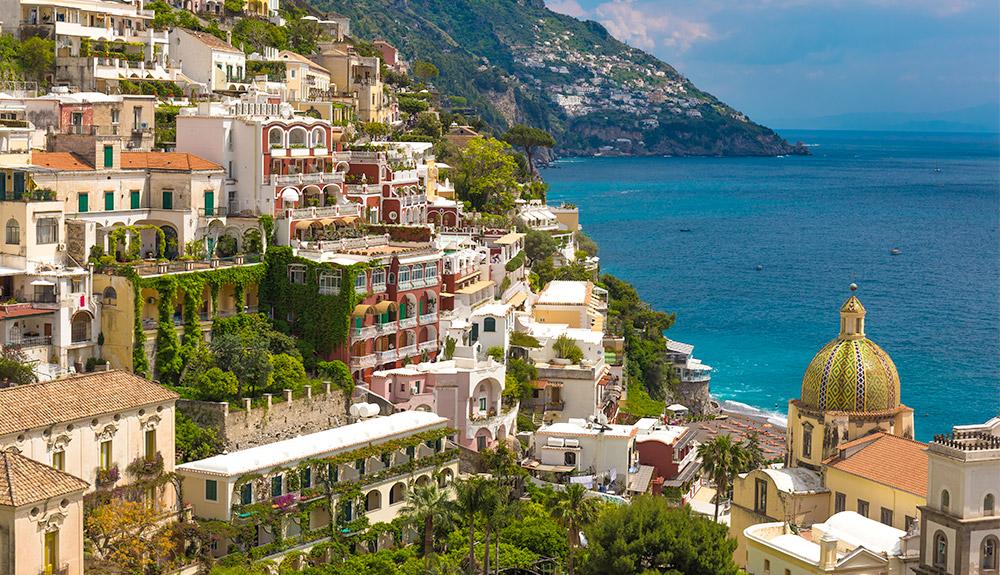 Du thuyền 5 sao quan cảnh thành phố Naples, Ý