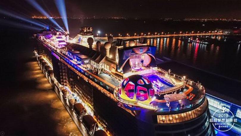 Spectrum Of The Seas ra mắt tại Trung Quốc