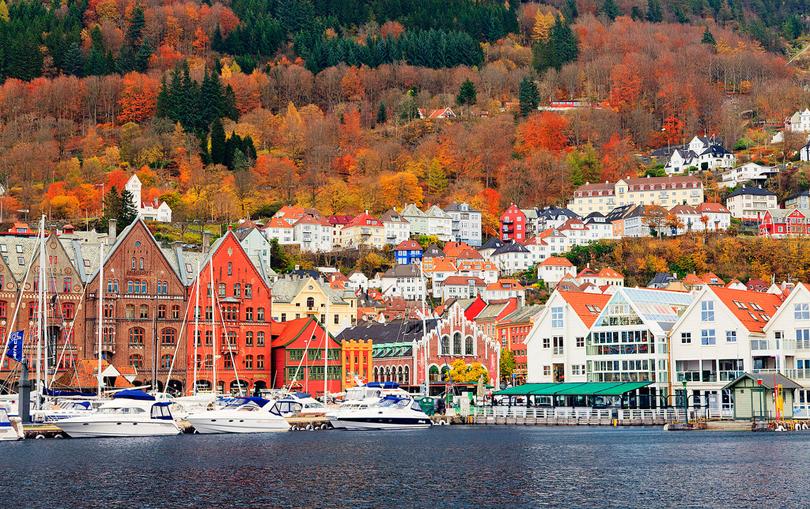 Bergen, thành phố của những cơn mưa