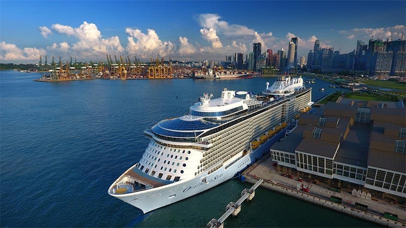 Ovation of the seas - Siêu du thuyền tân tiến nhất thế giới lần đầu tiên đến Châu Á