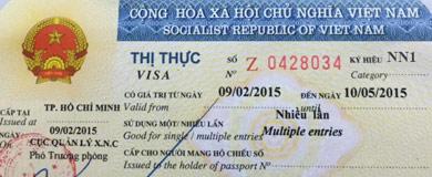Ký hiệu của các loại Visa Việt Nam cấp cho người nước ngoài
