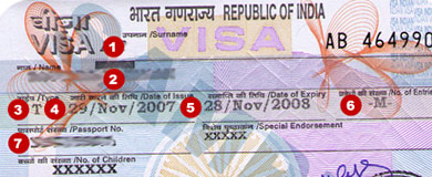 Thủ tục làm Visa đi Ấn Độ